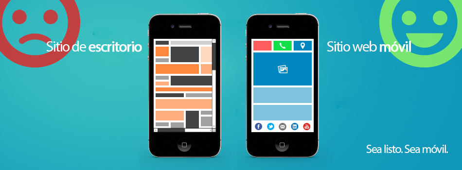 Mobile website vs. desktop website
